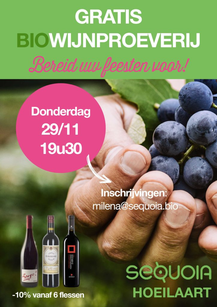 Wijnproeverijavond te Hoeilaart!